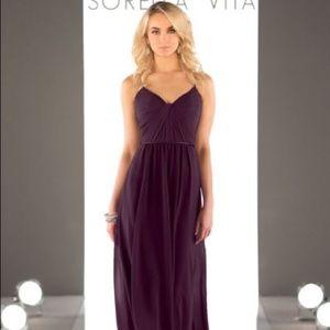 Sorella Vita 8746 Aubergine Bridesmaid Dress
